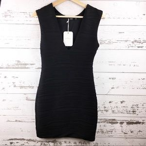 MILLAU Little Black Bodycon Sleeveless Mini Dress